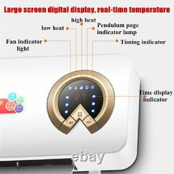 2000W Wall Mounted Air Cooler Airconditioner Heater Fan Heating Air Cooling Room