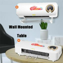 2000W Wall Mounted Air Cooler Airconditioner Heater Fan Heating Cooling Room