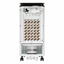 4L Portable Air Cooler Evaporative Oscillating Unit Ice Fan Swing AC Oscillation