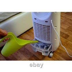 4in1 Portable Air Cooler Water 5L Evaporative Purifier Ionization Fan Quiet UK