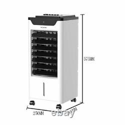 5L Air Conditioning Portable Unit Remote Control Cooler Fan Indoor Cooling Home