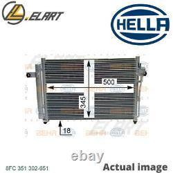 A/c Air Condenser Radiator New Oe Replacement For Hyundai Getz Tb G4ea Hella
