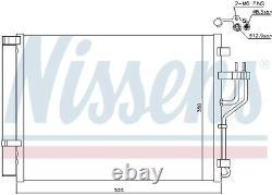 A/c Air Condenser Radiator New Oe Replacement For Kia Hyundai Sportage Sl D4fd L