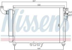 A/c Air Condenser Radiator New Oe Replacement For Kia Rio II Jb D4fa Rio II