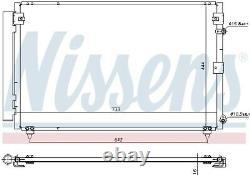A/c Air Condenser Radiator New Oe Replacement For Lexus Ls Ucf30 3uz Fe Nissens