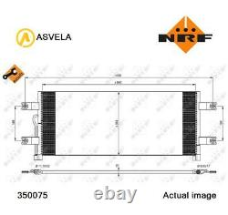 A/c Air Condenser Radiator New Oe Replacement For Mercedes Benz Actros Mp4 Om