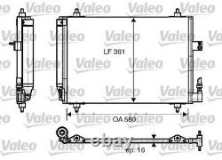 A/c Air Condenser Radiator New Oe Replacement For Peugeot Citroen 407 6d Rfn 3fz