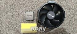 AMD Ryzen 5 3600 Wraith CPU Air Cooler Boxed with 4.1GHz 2600 Processor Zen+