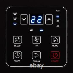 Air Conditioner Cooler Electric Remote Control Wheels Timer LED Display 3 in 1