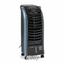 Air Cooler Fan Humidifier Home Office Oscillation 6L 65W Remote 4 Speed Blue