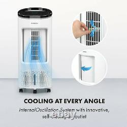 Air Cooler Fan Portable 65W Timer 330m³ / h Touch Room Home Remote Control White