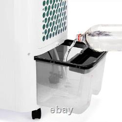 Air Cooler Humidifier 4in1 Remote10L LED Display Timer Portable Unit Fan Ionizer
