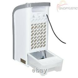 Air Cooler Portable Humidifier Evaporative Cool Fan 3 Speed Oscillation & Remote