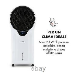 Air Fan Portable Cooler Humidifier Room Ioniser 90 W 5.5 L Remote White