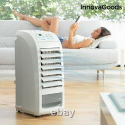 Air Portable Cooler Evaporative Fan mini Conditioner Humidifier Uk Unit Remote