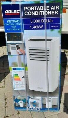 Arlec PA0502GB 5000 5K BTU Air Conditioner Aircon Cooler White