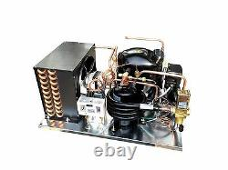 Combo Air & Water Cooled Condensing Unit 1-1/4 HP HBP R134a 230v (NJ6226Z2)