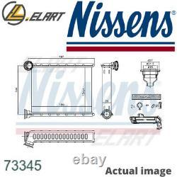 Heater Radiator Exhanger Unit For Dacia Renault Logan II H4b 400 Nissens