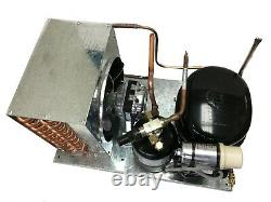 Indoor KB4440Y-1 Condensing Unit 1/3 HP, High Temp, R134a, 115V Assembled in USA