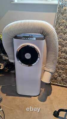 Klarstein Kraftwerk Smart Mobile Air Conditioner, 3-in-1Cooling, Dehumid, WiFi, APP