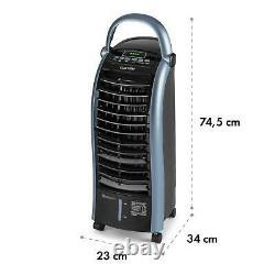 Klarstein Maxfresh Ocean Fan Air Cooler 6L 65W Remote Control Ice Pack Blue