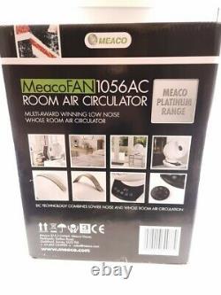 MEACO MeacoFan 1056 Air Circulator Portable 12 Desk Fan Air Cooler White