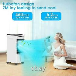 Mobile Air Conditioner 5L, 4-in-1 Portable Air cooler/Fan/Humidifier/Air Purifie