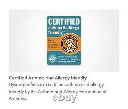 NIB Dyson TP02 Air Purifier Fan + Pure Cool Link Removes Allergens & Pollutants