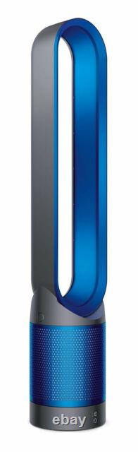 New Dyson TP02 Pure Cool Link Tower 800 Sq. Ft. Air Purifier Iron, blue