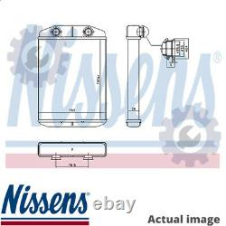 New Heater Radiator Exhanger Unit For Abarth Lancia Fiat 312 A3 000 Nissens