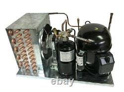 New! Indoor Condensing Unit 3/4 HP, High Temp, R404A, 115V (Embraco NT6217GKV1)