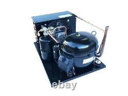 New Outdoor Condensing Unit 1/2+ HP, High Temp, R134a, 115V (Embraco NT6215Z1)