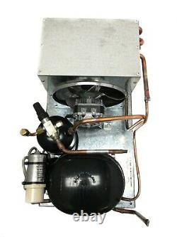 Oudoor AE9437Y-1 Condensing Unit 1/2 HP, Med Temp, R134a, 115V. Assembled in USA