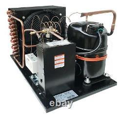 Outdoor QT AJA7494ZXD Condensing Unit 1-1/4 HP Medium Temp R404A, 220V/1PH (USA)