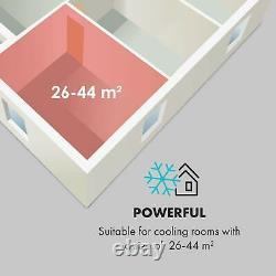 Portable Air Conditioner Dehumidifier Cooler 3-in-1 9.000 BTU App Control White