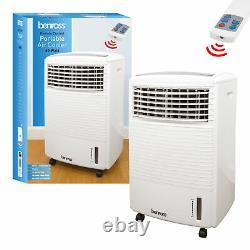 Portable Air Cooler Unit 10L 60W & Remote Control Flow Swing Conditioning Fan