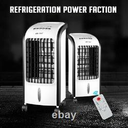 Portable Air Cooler Unit Ice Water Fan Humidifier Timer 3 Settings AC WithRemote