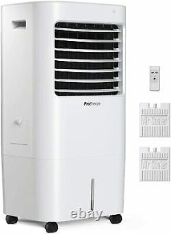 Pro Breeze 10L Portable Air Cooler with 4 Operational Modes, 3 Fan Speeds, LED D