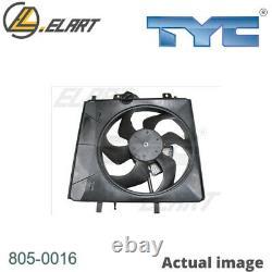 Radiator Cooling Fan Module Unit For Citroen Peugeot C3 I Fc Hfx 8hx Kfv Nfu 8hy