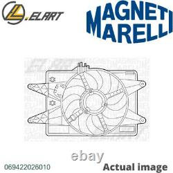 Radiator Cooling Fan Module Unit For Fiat Doblo Mpv 119 223 223 A6 000 Magneti