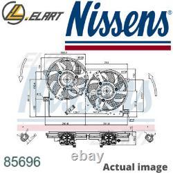 Radiator Cooling Fan Module Unit For Fiat Siena 172 188 A9 000 Strada Pickup 178