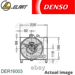 Radiator Cooling Fan Module Unit For Smart Cabrio 450 M 160 E6al B03 M 160 920 M