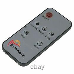 Shopylistic 2 X 4L Portable Air Cooler Purifies & Ionises 3 Fan Speeds & Remote