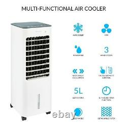 Silentnight 3 in 1 Portable Air Cooler, Fan, & Humidifier / Home Or Office Use