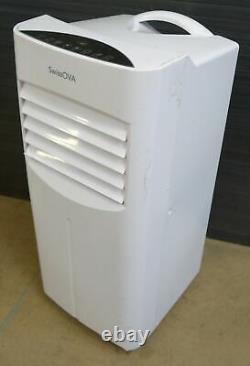 SwissOVA 412256 7000BTU Portable Air Conditioner Dehumidifier Cooler No Remote