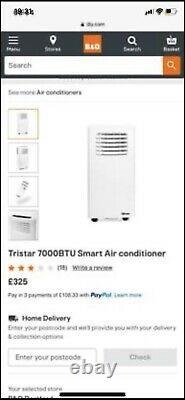 Tristar 7000BTU AC-5670BS Air Conditioning Unit Cooler