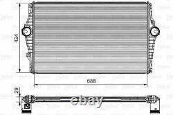 Valeo 818279 Intercooler Charger Air Cooler Aluminium Core Replacement Spare