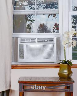 Window Air Conditioner 5,000 BTU Small Compact Lightweight Powerful Room Cooling