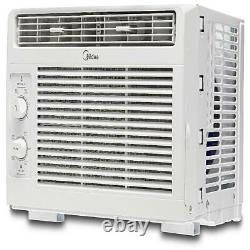 Window Air Conditioner Mechanical Control Air Cooler Small Room AC Unit Fan 115V