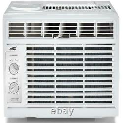 Window Air Conditioner Mechanical Control Compact Air Cooler Small Room AC Unit